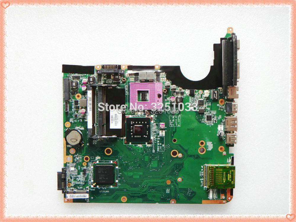 511863-001 لإتش بي جناح DV6 اللوحة دفتر PC DV6T-1000 DDR2 GM45 Integrado 100% Perfeito Trabalho