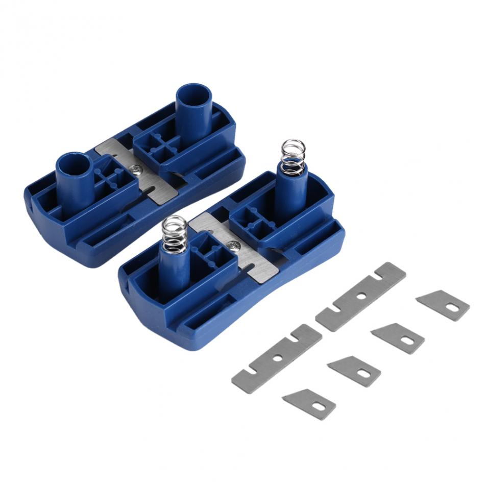 PVC Borda Coladeira De Borda de Madeira Duplo 2 Trimmer Manual Cauda Corte Carpintaria Carpinteiro Ferramenta De Hardware