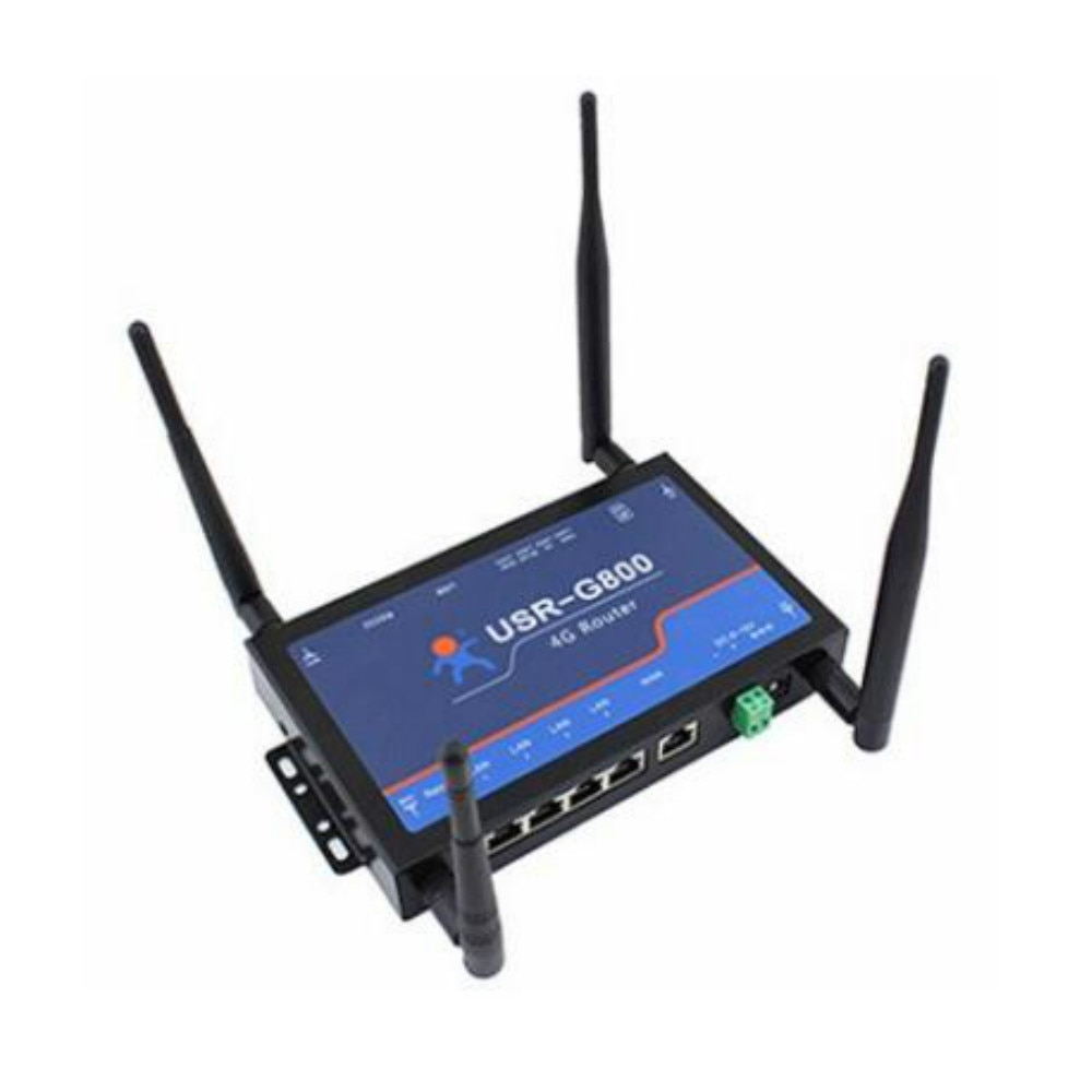 USR-G800-E 4G TD-LTE e FDD-LTE Rede Roteador Sem Fio LTE Industrial
