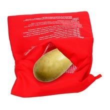 Моющаяся сумка для варки микроволновая печь для выпечки пакет для запекания картофеля быстро запеченный картофель кармашек для риса легко варить паровой карман