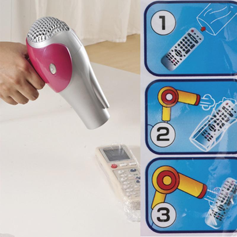 ALLOYSEED 5 uds película termorretráctil claro Video TV aire acondicionado protector de mando cubierta protector impermeable bolsa caso