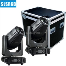 2pcs/lot with flightcase LED SPOT Moving Head 300W Moving Head Led Spot Moving Head with Zoom DMX 512 Stage Light dj lights