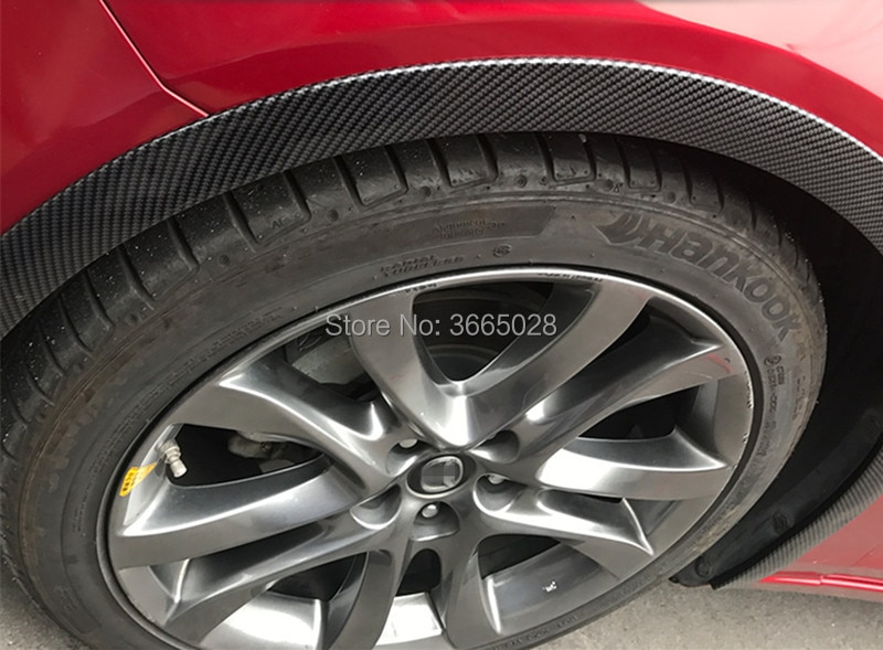 1pc guardabarros coche de extensión rueda ceja Protector de labios de arch-Trim de arco de la ceja tira decorativa neumáticos de coche Eyebr
