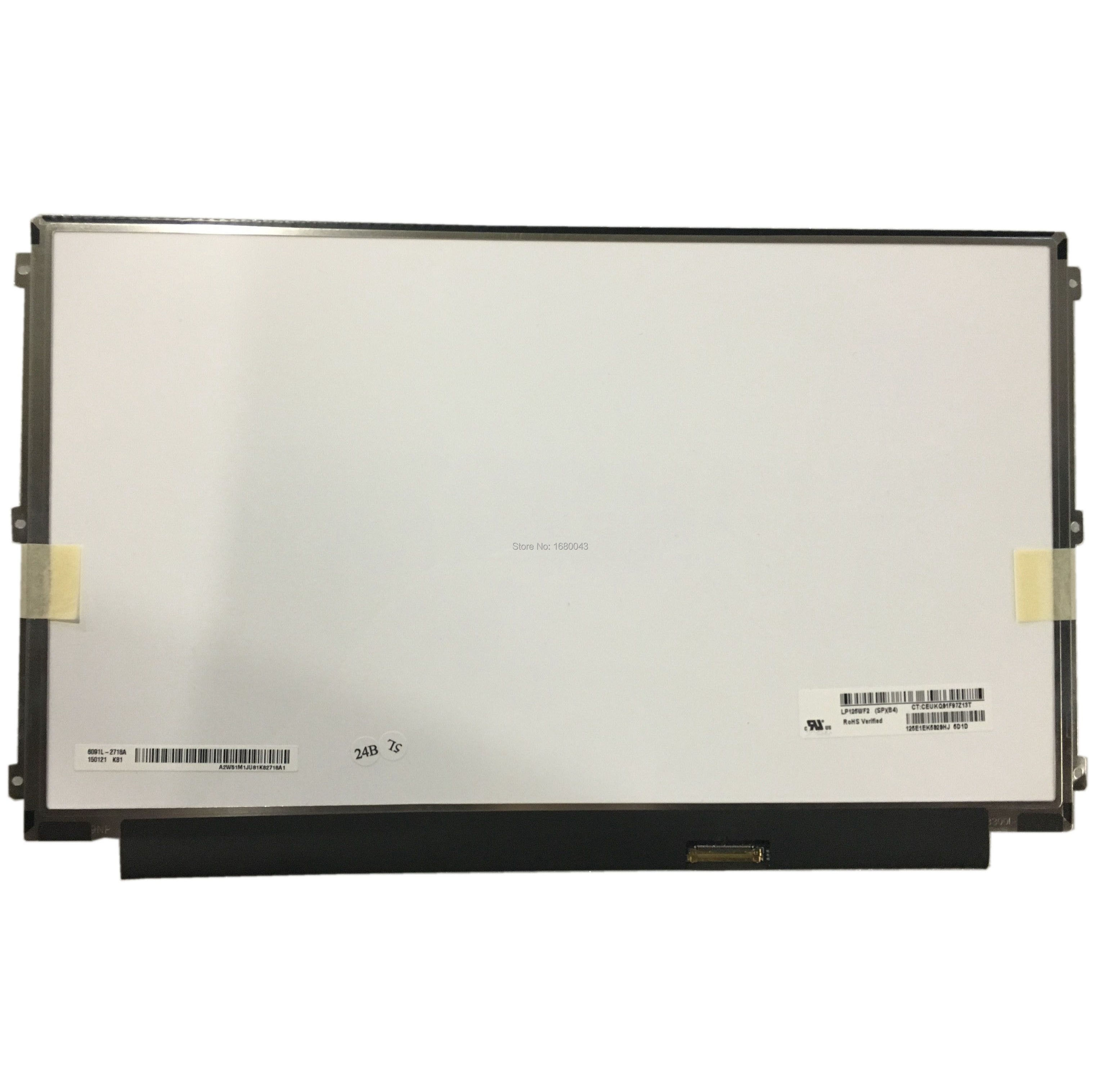 LP125WF2 SPB4 LP125WF2(SP)(B4) بنفس الطراز FHD 1920X1080 30 دبوس