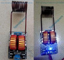 Module dalimentation de chauffage par induction 5 v ~ 12 v ZVS échelle + bobine tesla Jacob