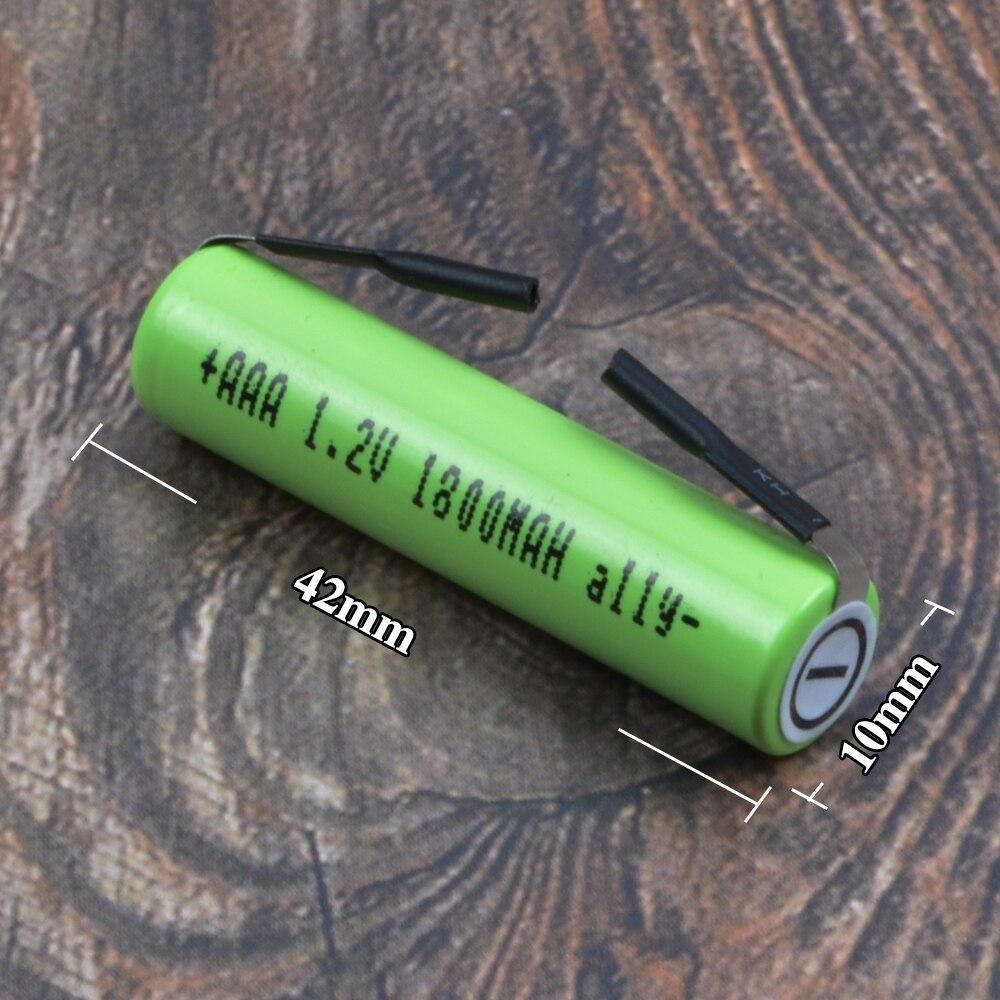 Batterie pour Philips HQ888 S510 S331 HQ853 S511 YQ318 S330 PQ188 PQ195 PQ227 rasoir rasoirs 42mm x 10mm