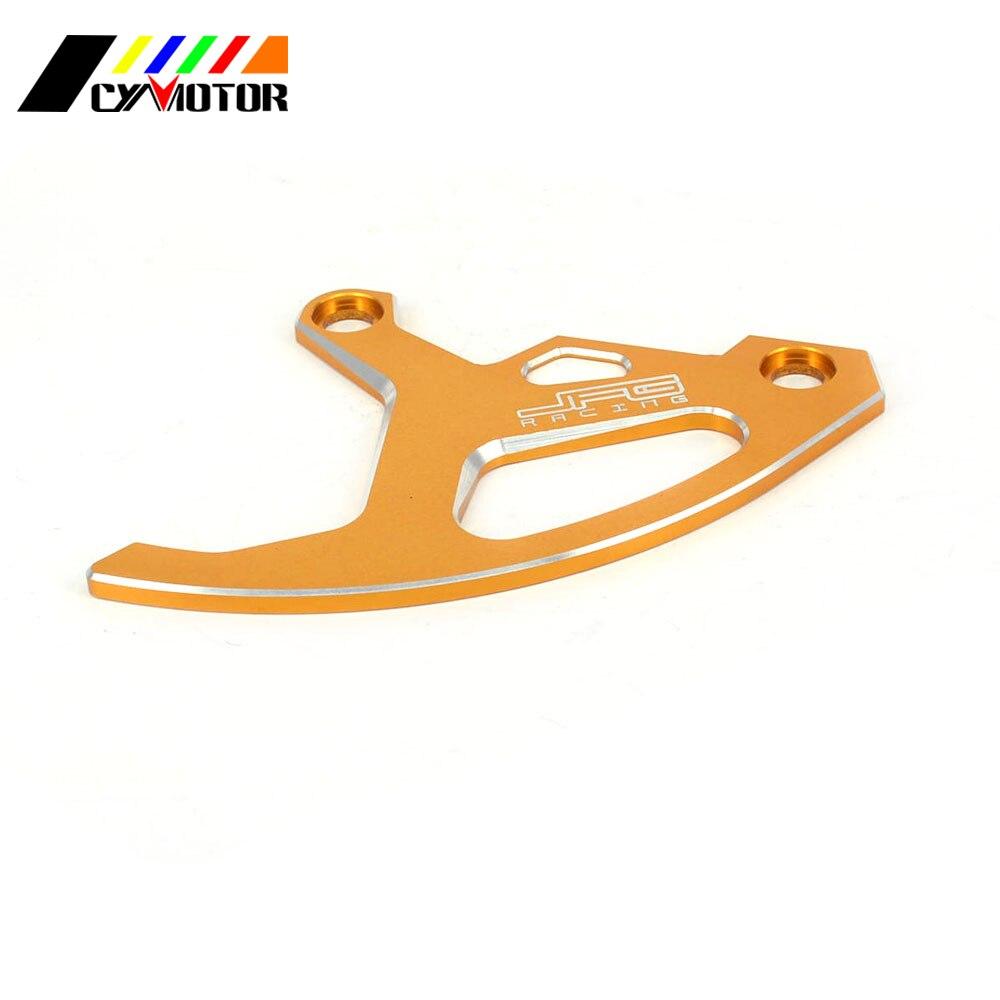 CNC Rear Disc Rotor Brake Guard Cover Protector For SUZUKI RM125 RM250 RM 125 250 RMZ250 RMZ450 RMX450Z DRZ400SM MotoBike