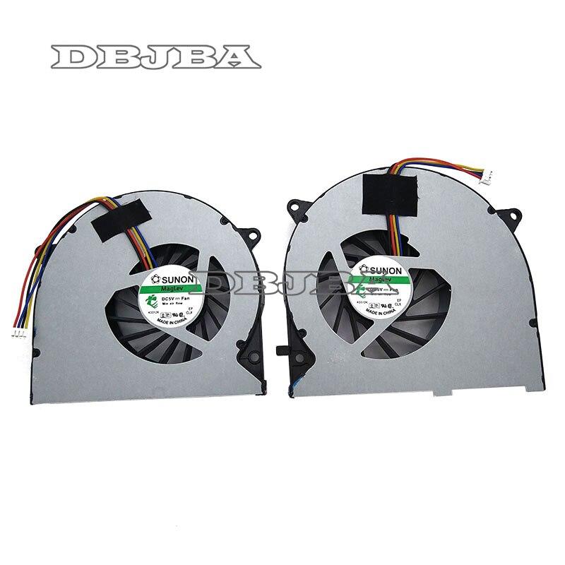 Ventilateurs de refroidissement pour ordinateur portable, CPU + GPU, pour ASUS G75 G75V G75VW G75VW-TH7 G75VW-DS71 G75VX