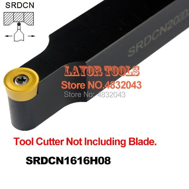 SRDCN1616H08 16*16 milímetros Torno Ferramentas De Corte de Metal Cnc Máquina de torno Ferramentas de Torneamento Torneamento Externo Ferramenta Titular S- tipo SRDCN