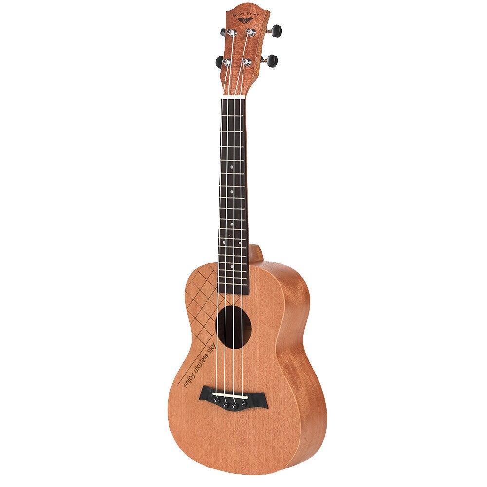 Ukelele de concierto caliente Oguman Rosewood cabeza de guitarra clásica 23 pulgadas Ukelele Uke 4 cuerdas guitarra hawaiana