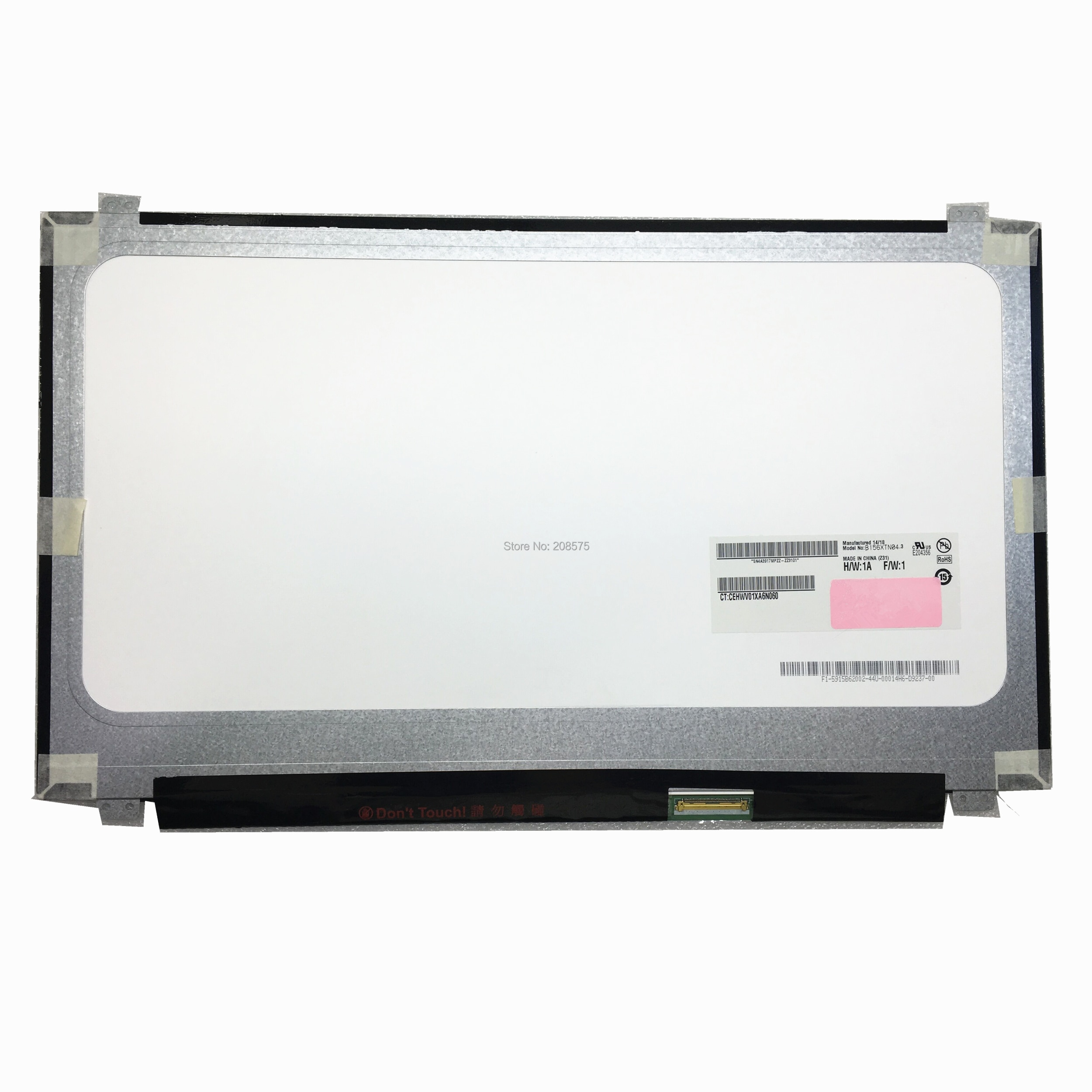 Тонкий ноутбук B156XTN04.3 B156XTN04.2 NT156WHM N10 LP156WHB TLA1 B156XW04 V5 V6, ЖК-экран 1366*768 LVDS 40 pins, бесплатная доставка