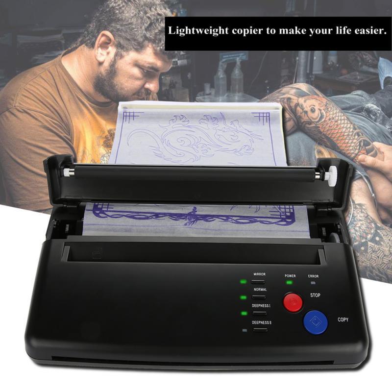 Зажигалка для тату переводная машина Принтер для рисования термальный производитель трафаретов копир для тату переводная бумага поставка Перманентный макияж