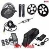 36 V 500 W bafang BBS02B kit de conversion de vélo électrique à moteur central à manivelle central avec 36 V 15AH pour batterie au Lithium ion samsung