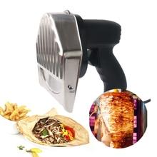 Shawarma trancheuse électrique Kebab   Couteau à Kebab, couteau Gyros/coupe Gyro avec 2 lames, Shawarma fabricant, Machine à Doner, Certification CE