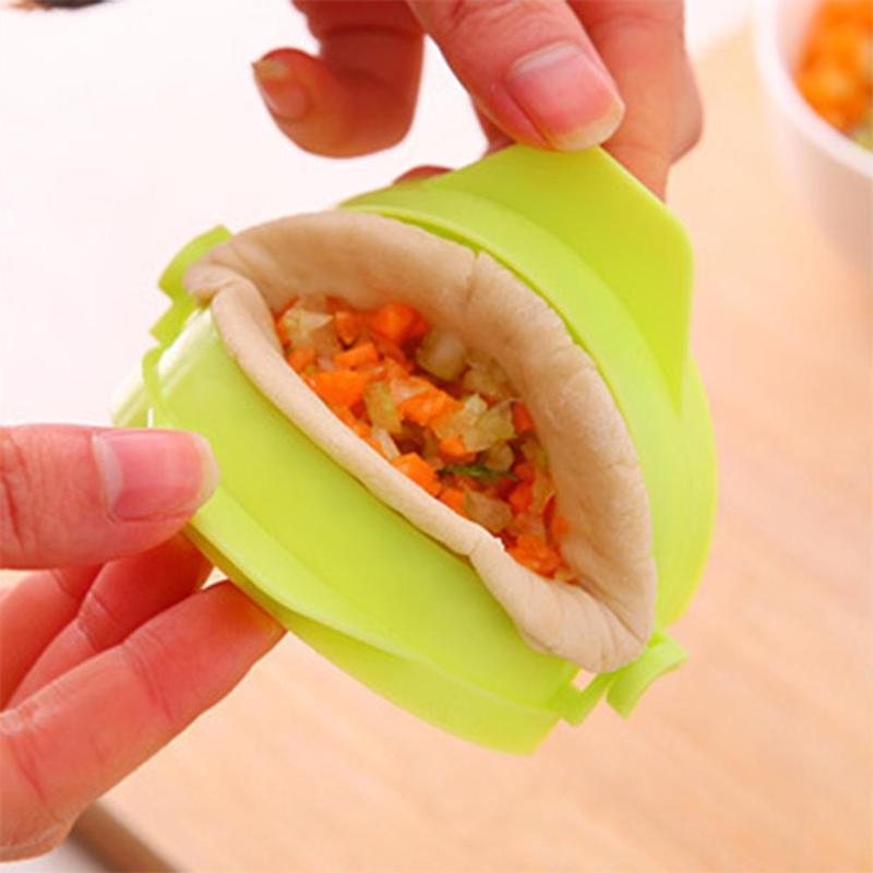 Herramientas de cocina para Dumpling, pinza de mano, carpeta para Dumplings, molde para Postres, Dumplings herramientas para hacer, carpeta, molde para postres, herramientas para repostería