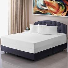 Turetrip All Size Smooth Zipper Waterproof Mattress Cover Bed Bug Proof Mattress Protector Fully Cover Mattress Encasement