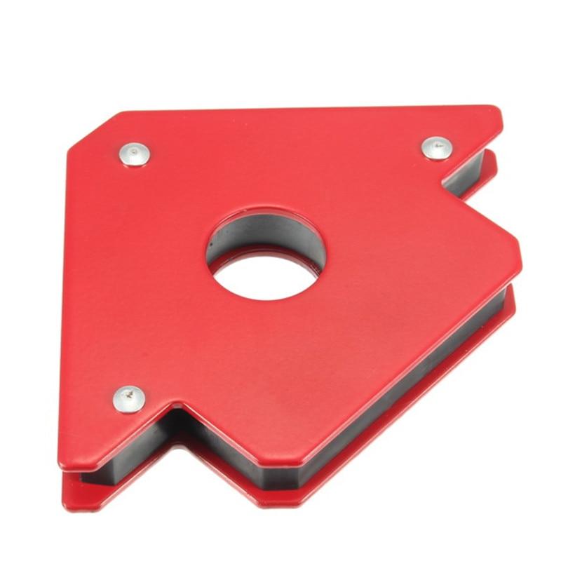 1 ud. Soporte de soldadura magnética forma de flecha para múltiples ángulos sostiene hasta 25 Lbs para montaje de soldadura instalación de tuberías de soldadura