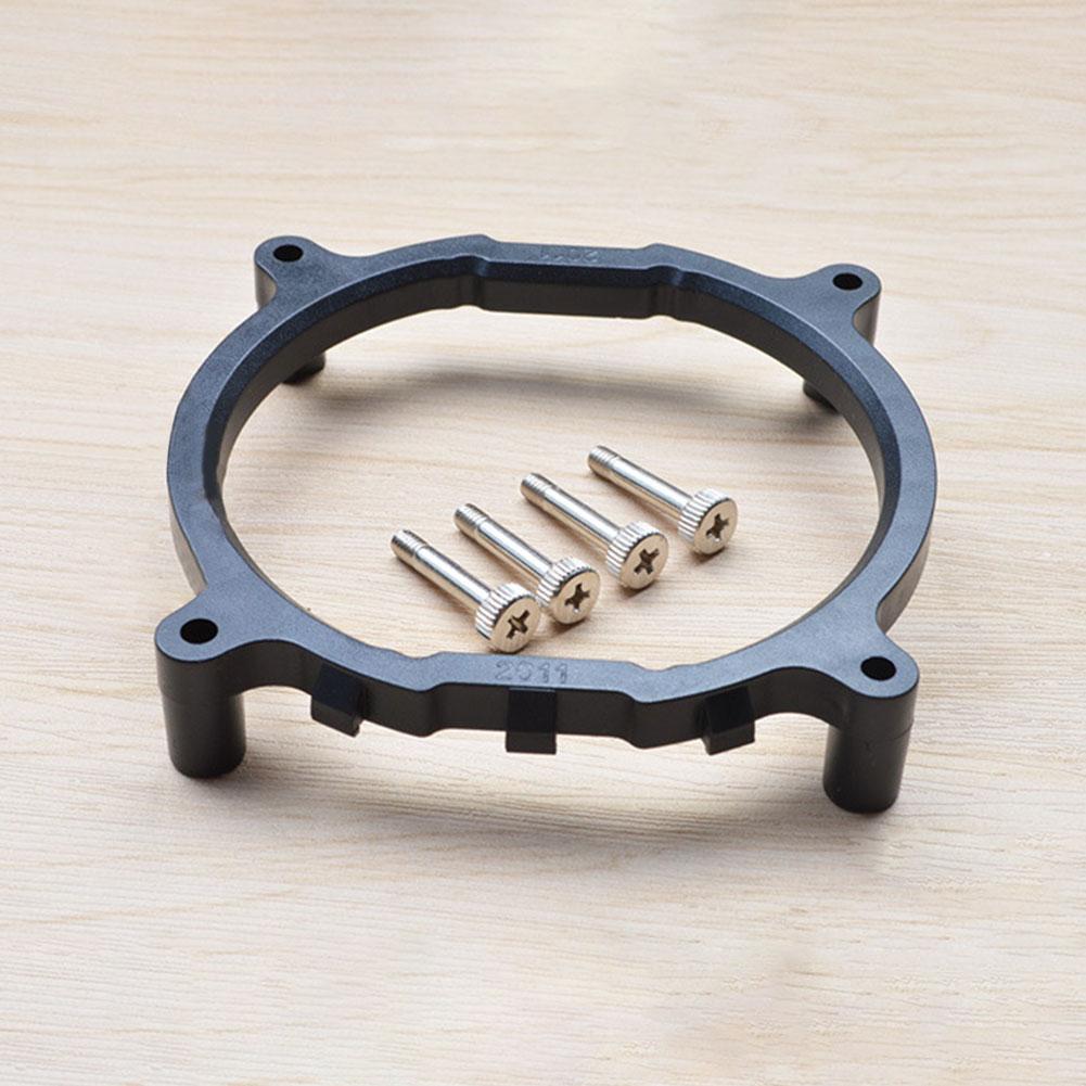С винтами радиатор база поддержка кулер вентилятор сменный кронштейн настольный процессор круглый материнская плата держатель компьютер для Intel