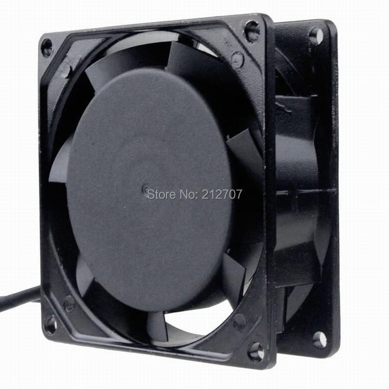 Gdstime 90mm 9cm AC 220V 240V Cooling Fan 92mm 92mm x 25mm Mental Cooling Fan Industrial Axial Fan