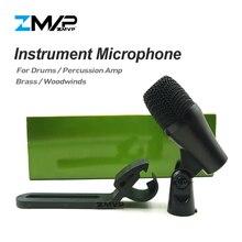 Профессиональный PGA56 микрофон класса А, кардиоидный микрофон с поддержкой PGA для перкуссионных басов, ударных барабанов Tom Snare, для сцены и студийной съемки