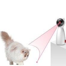 2019 creativo divertido Láser LED para mascotas nuevo gato de juguete perro ejercicio entrenamiento entretenido juguete Multi-ángulo ajustado gato dispositivo de limpieza