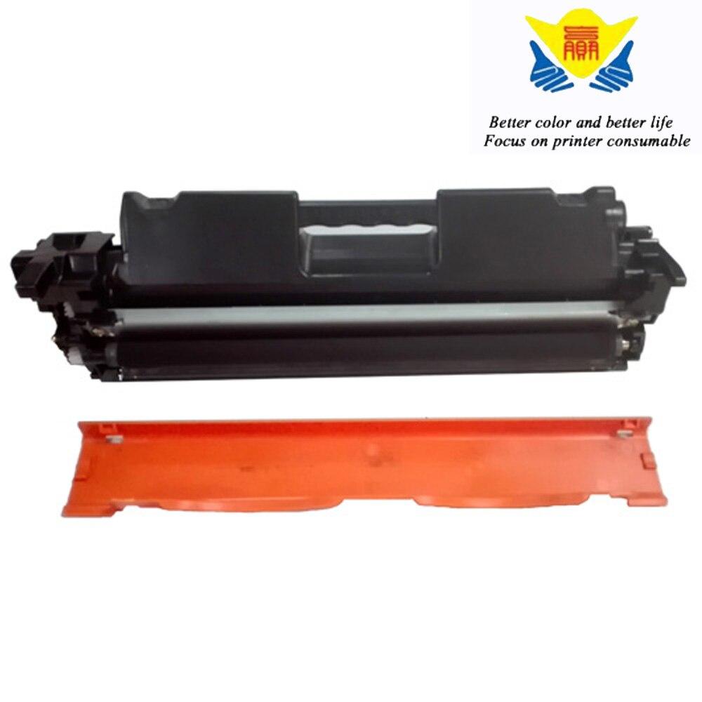 Jianyingchen preto compatível cartucho de toner cf217a 17a para hps laserjet pro m102a impressora a laser