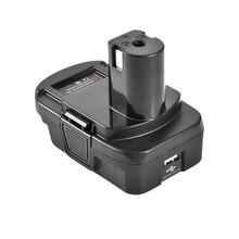 Dm18Rl Lithium Battery Convertor Adapter For Milwaukee Ryobi 20V/18V P108 Abp1801 Li-Ion Battery