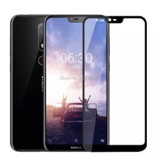 3D Tempered Glass For Nokia X6 2018 Full Cover 9H Protective film Protection Guard Screen Protector