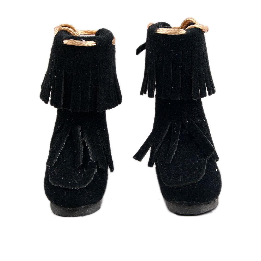 [Wamami] neo boneca mmk lati puki dollfie sapatos botas terno preto