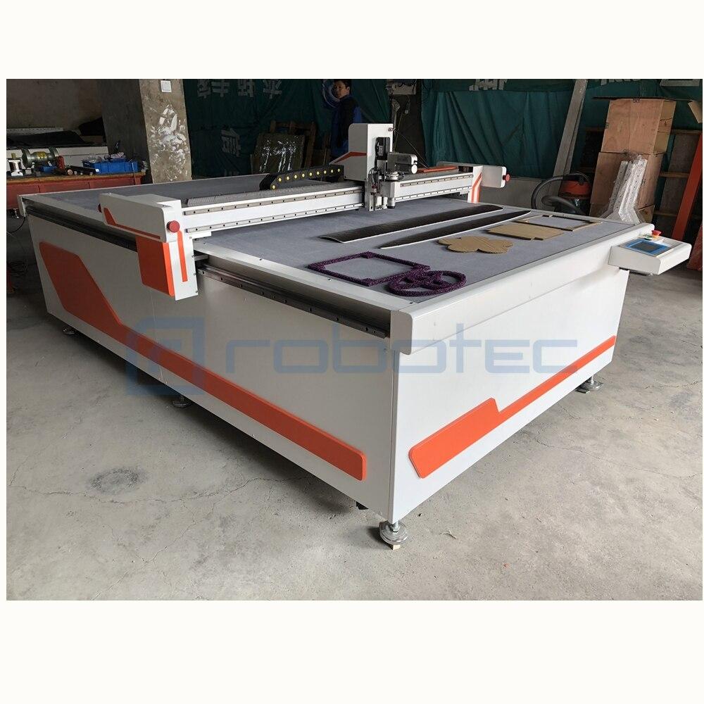 Machine de découpe de tissu à couteau rond   machine de découpe informatisée de tissu, couteau oscillant 1625 machine de découpe de tissu