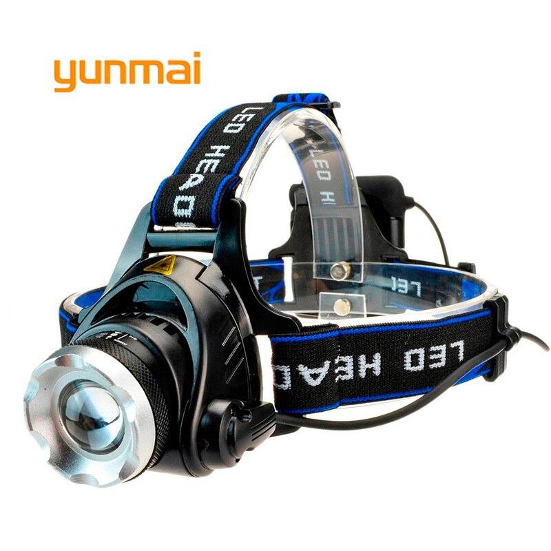 2020 nouvelle puissance phare LED étanche phare 4000 lumen xml t6 lampe frontale torche utiliser 4 AA batterie pour la chasse pêche lumière
