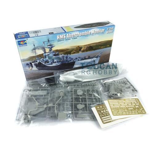 Trumpeter-Monitor estático, modelo de juguete, HMS, Abercrombie, Kit de buque de guerra,...