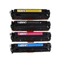 540 540A CB540A CB541A CB542A CB543A Compatible Color Toner Cartridge For HP125a Color LaserJet  CP1215 CP1515n CP1518ni CM1312