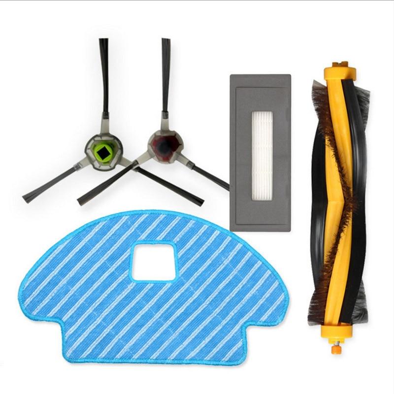 Основная щетка для вшей, фильтр, боковые щетки, Швабра, Набор Для Ecovacs Dg3G-Kta Deebot Ozmo 930, фильтр для основной щетки