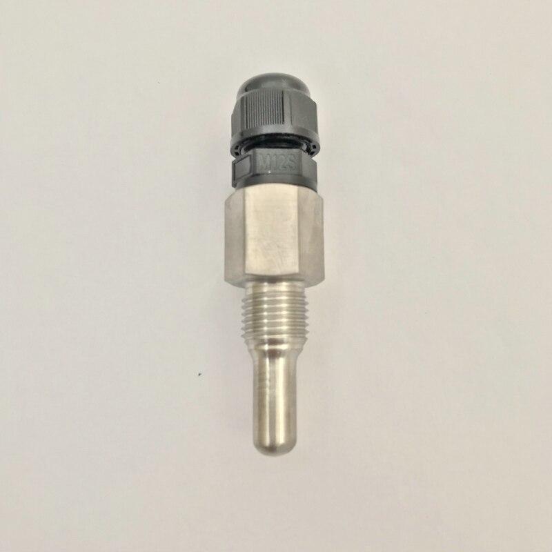 "BSP1/4 ""SUS304 SP41-020 2cm Thermowell inmersión manga bolsillo Dia.6 OD 8mm acero inoxidable para PT1000 PT100 sensores"