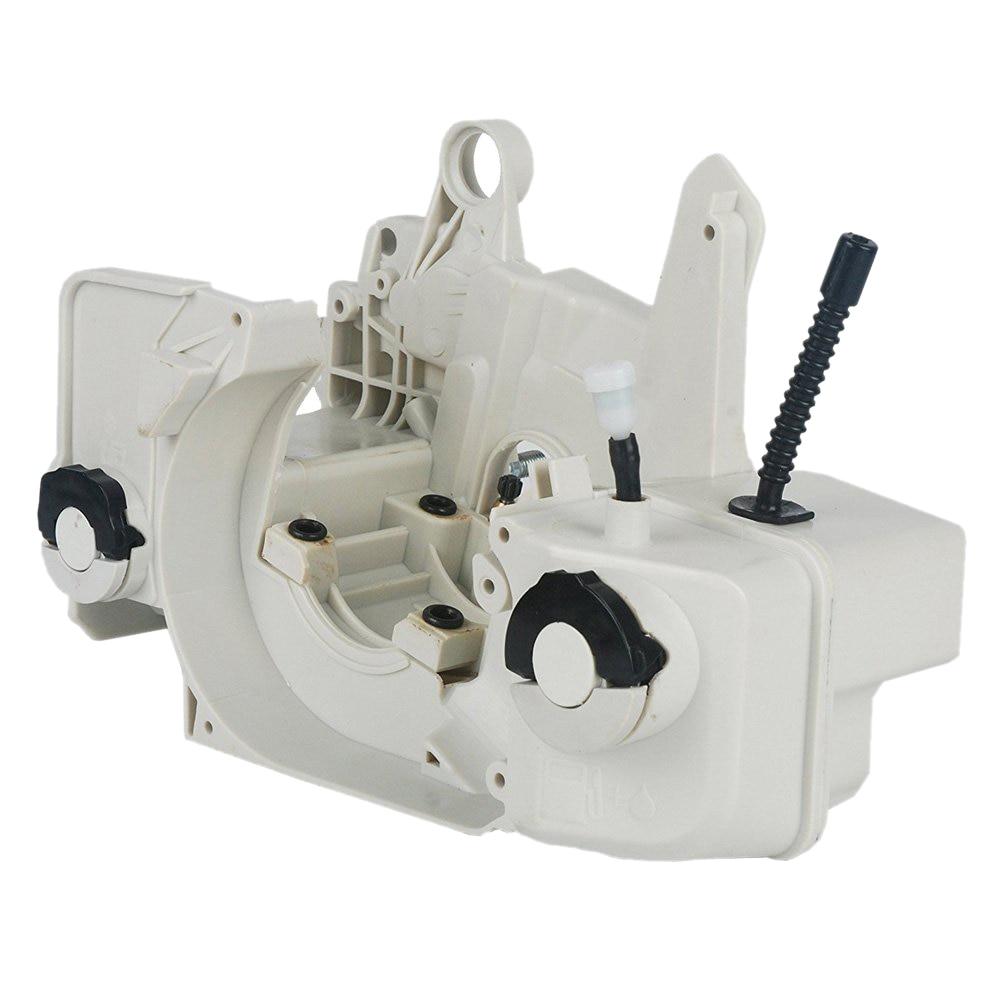 علبة المرافق لخزان زيت الوقود والغاز ، مبيت المحرك مناسب لـ Stihl 023 025 Ms 230 Ms 250 ، أجزاء أداة المنشار