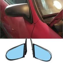 SPN Style Side Mirrors ABS Black (Manual) Fits 1992-1995 EG  1996-2000EX Honda Civic 4dr (Fits Honda Civic)