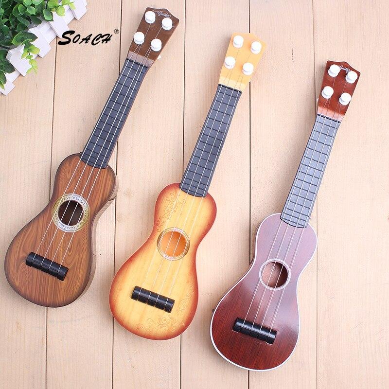 SOACH дети учатся Укулеле сопрано Sapele 12 Гавайская гитара маленькие гитарные струны для укулеле Музыкальные инструменты