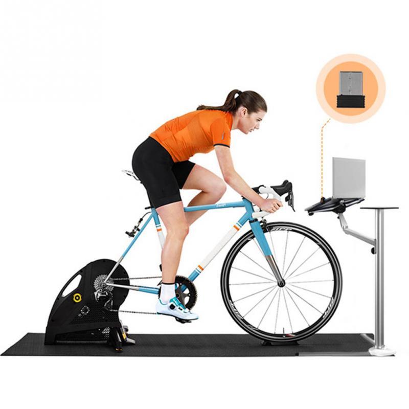 Велосипедный мини ANT + usb-адаптер для велосипеда, беспроводной приемник, адаптер с датчиком скорости для Garmin для Zwift для Wahoo для Bkool