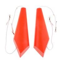 1 Pair Plastic Splashing Float Left & Right Trolling Accessory Side Planer Diveboard