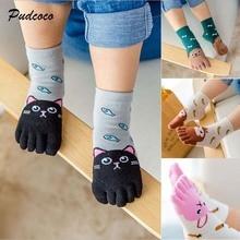 Pudcoco Hot Cute Cotton Baby Socks 2018 New Winter Autumn Anti-Slip Infant Knee Cute Socks Newborn Baby Socks For Kids Toddler