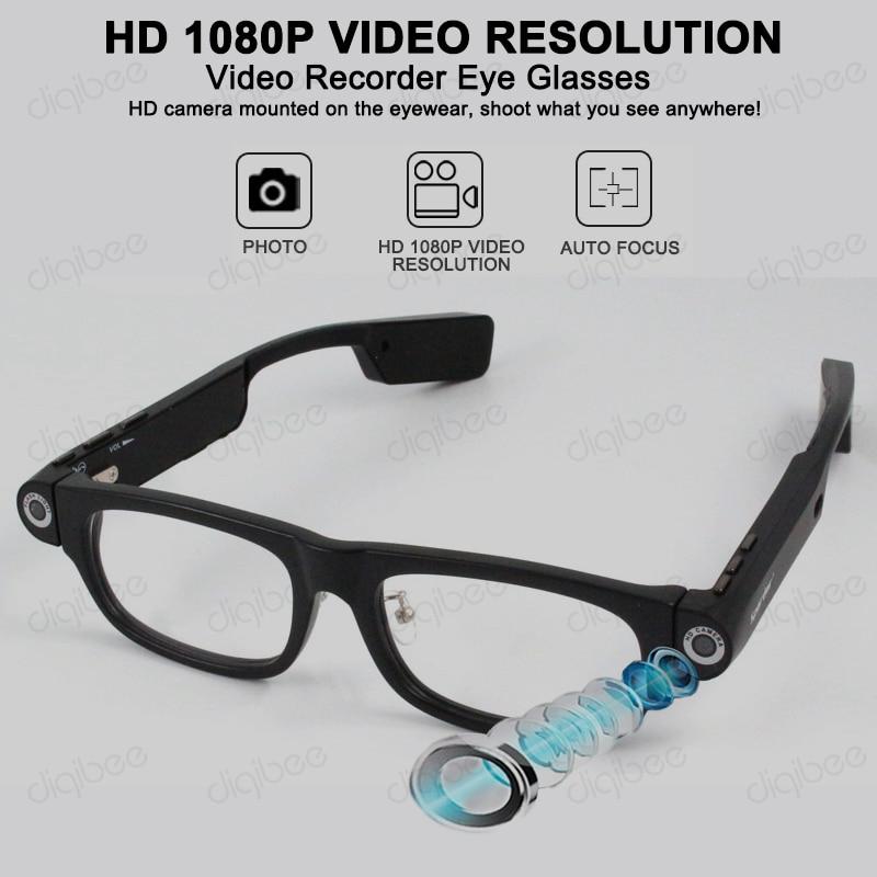 Fashion Outdoor Sport Smart Glasses Wireless Bluetooth 4.0 Headset Sunglasses Camera HD 1080P Video Recorder 8GB or 32GB Car DVR
