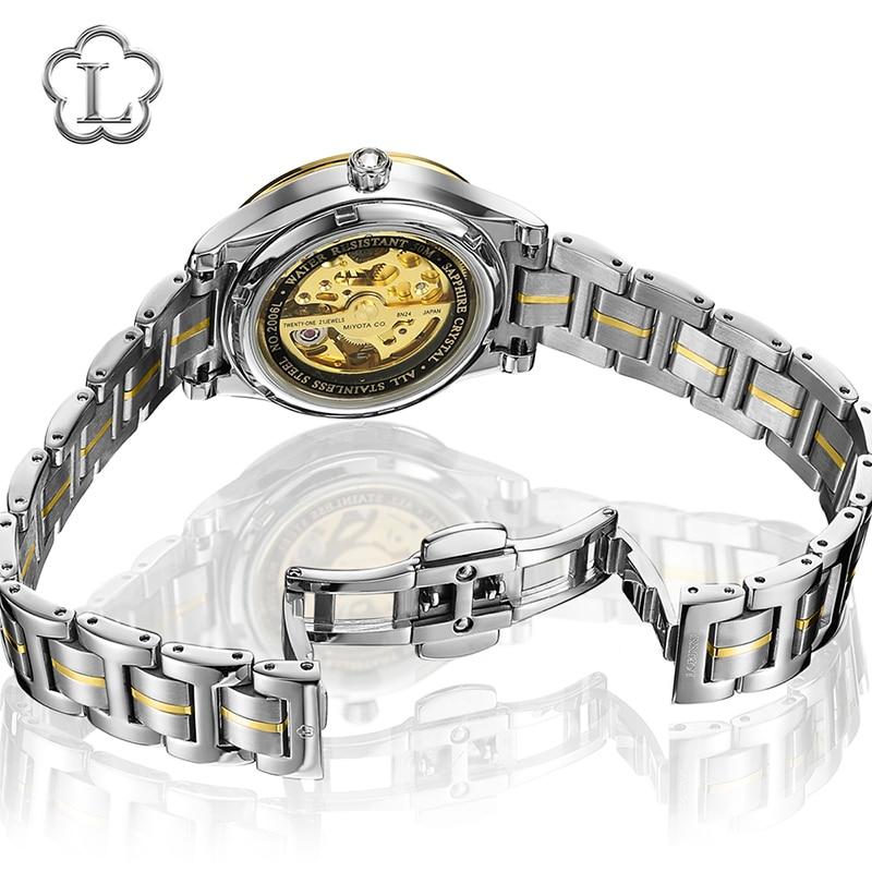 New Luxury Brand Switzerland LOBINNI Women Watches Japan MIYOTA 8N24 Automatic Mechanical Clock Sapphire Ladies Watch L2006L-2 enlarge