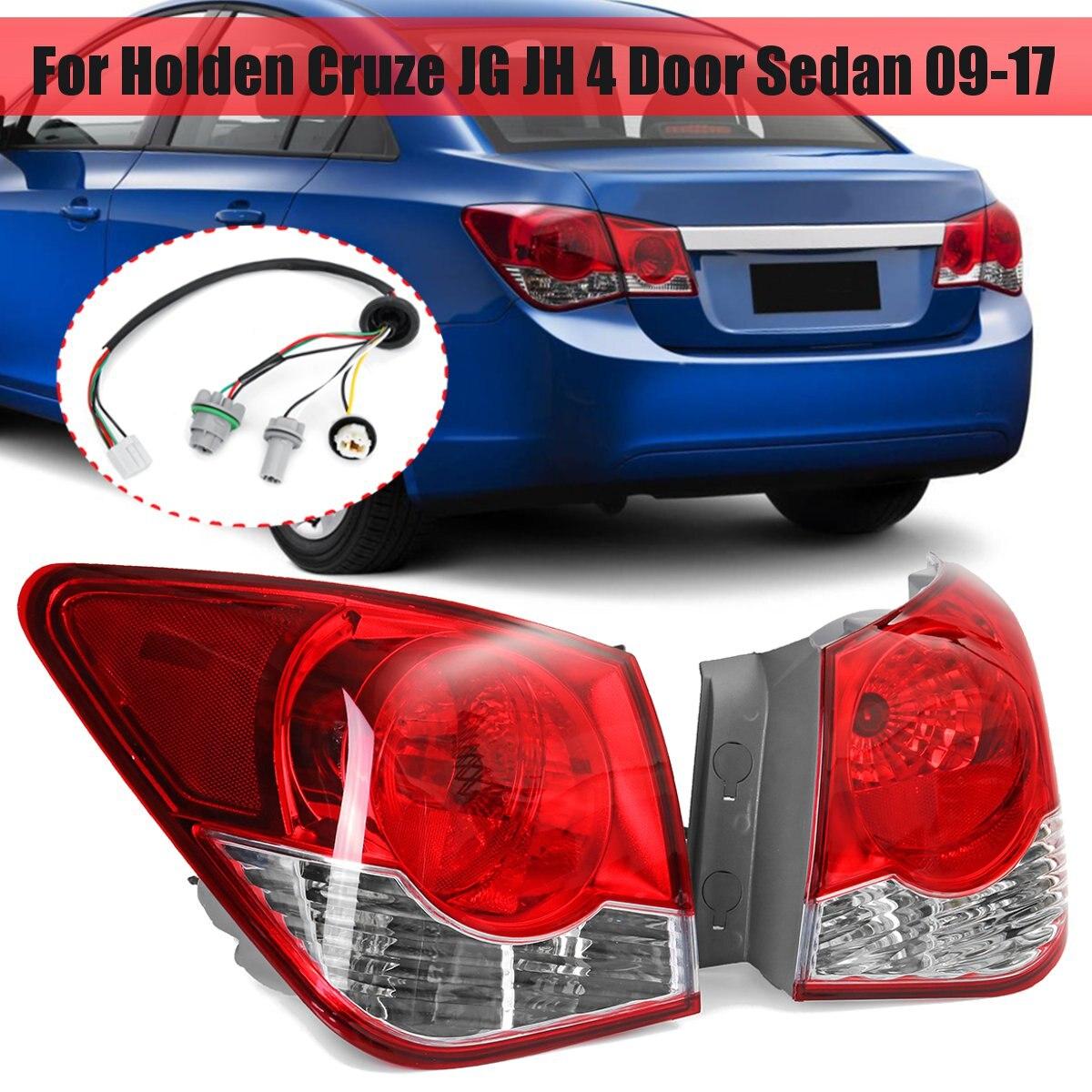 Задний задний фонарь с проводкой для Holden, для Cruze JG JH 4, дверной седан 2009-2017, стоп-сигнал, задний светильник