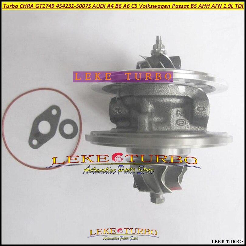 Cartucho Turbo GT1749V 454231, 454231-5007S 454231-5012S 4542317 de 454231, 5012S 4542319012S 454231 7 para Audi A4 B5 B6 A6 C5