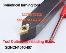 SDNCN1010H07 SDNCN1212H07 outils de découpe de tour à métal CNC de Machine outils de tournage porte-outil de tournage externe s-type SDNCN