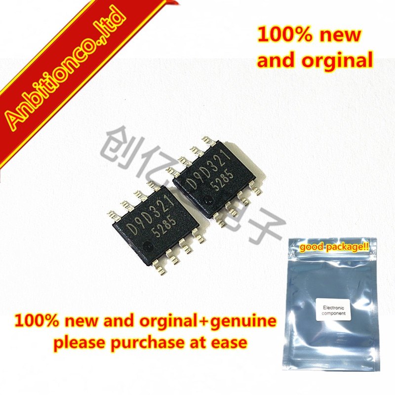 10 piezas 100% nuevo original BD9D321EFJ D9D321 HTSOP8 4,5 V a 18 V entrada 3.0A MOSFET integrado 1ch Buck síncrono DC/DC, en stock