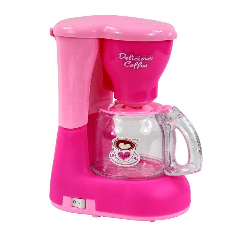 Educational Emulational Coffee Maker Kitchen Children Kids Pretend Play Toy