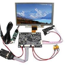 "8"" Touch Panel ZJ080NA-08A Reversing 1024x600 VGA AV LCD Controller Board 8inch LCD Panel"