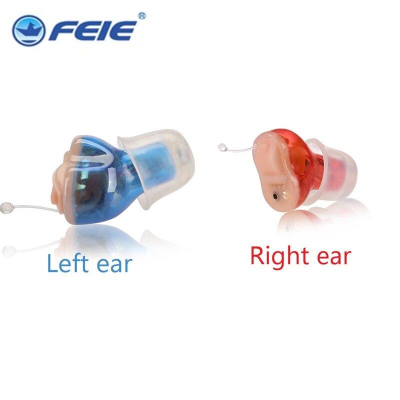 الرقمية غير مرئية الداخلية السمع صوت مكبر للصوت لاسلكية مصغرة تخفيض الضوضاء سماعة صغيرة برمجة 4 قنوات S-12A